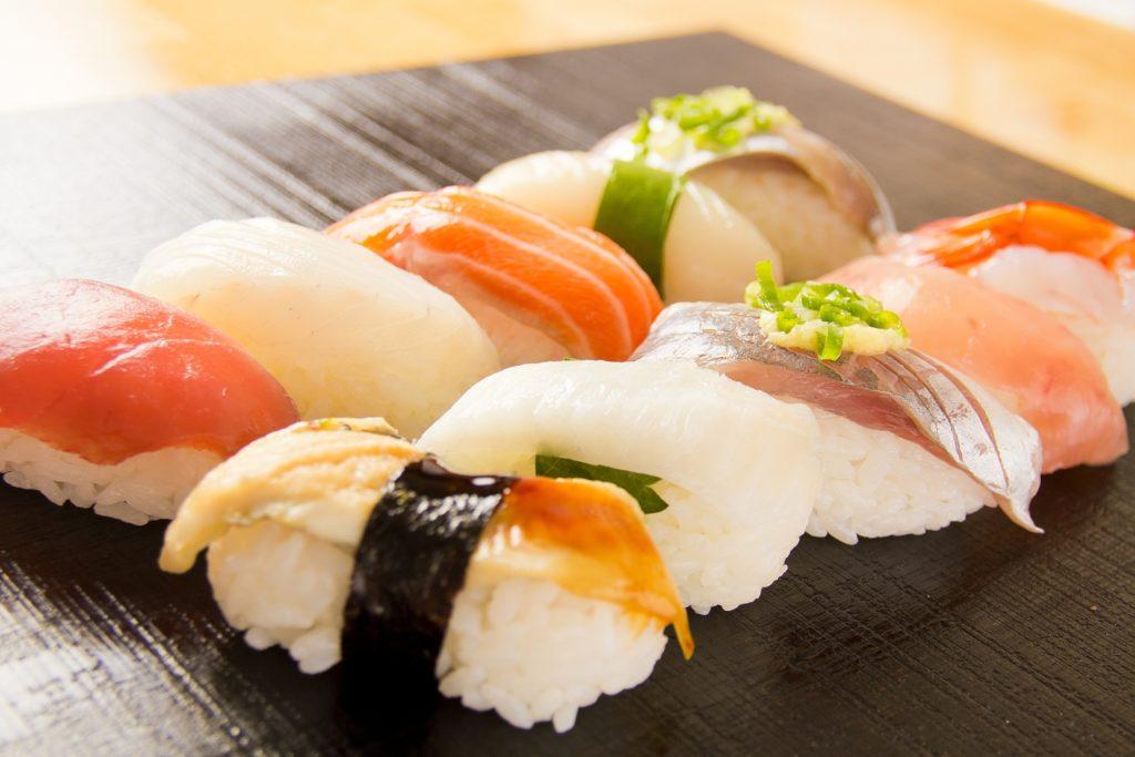 美味しそうなお寿司