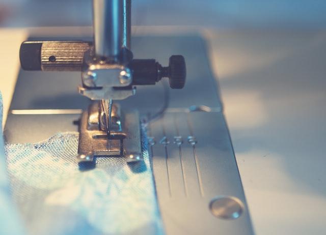 ミシンの縫うところ