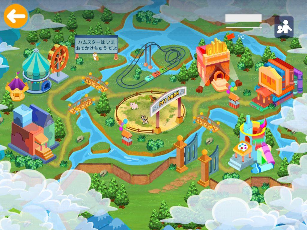 楽天ABCマウスの地図