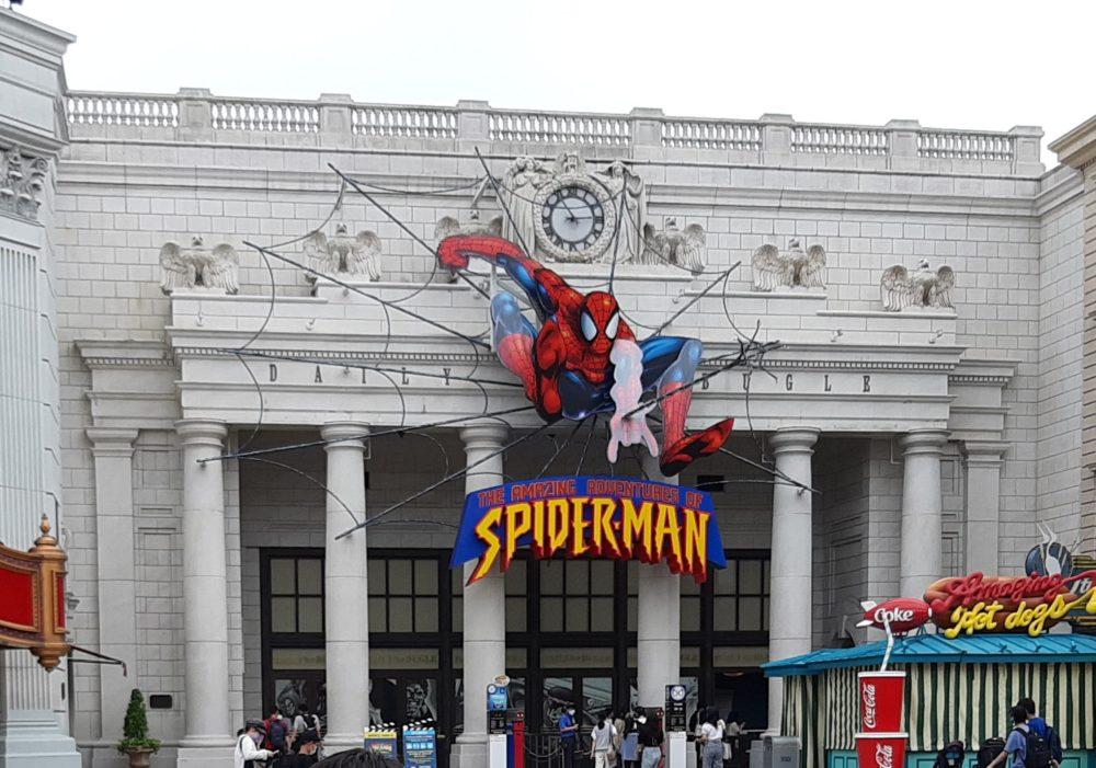 ニューヨーク・エリアのスパイダーマン